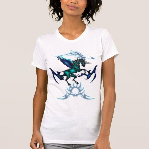 Camisa de Pegaso del unicornio