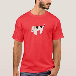 Camisa de pensamiento del fox terrier del alambre