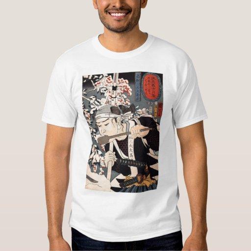 Camisa de pintura japonesa de la C. 1800's