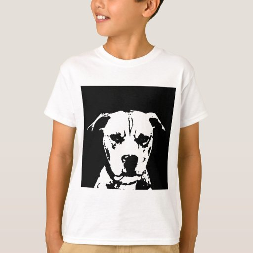 Camisa de Pitbull - camiseta de los niños