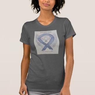 Camisa de plata de la cinta de la conciencia de