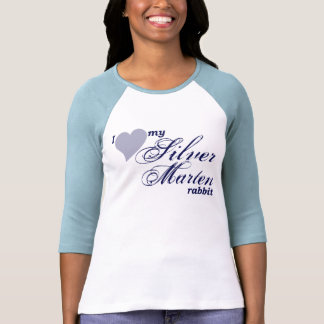 Camisa de plata del conejo de la marta