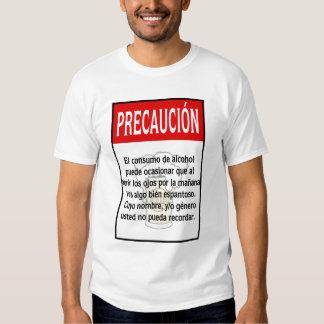 Camisa de Precaución Jocosa