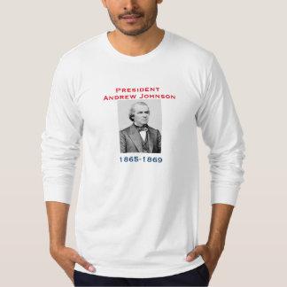 Camisa de presidente Andrew Johnson