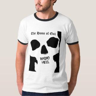 Camisa de radio del cráneo del infierno
