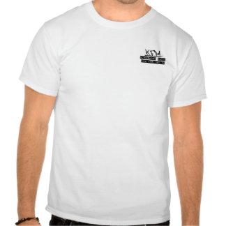 Camisa de radio del personal de KFM