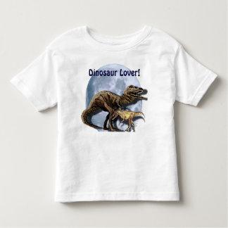 Camisa de Rex de la camiseta del Dinosaurio-amante