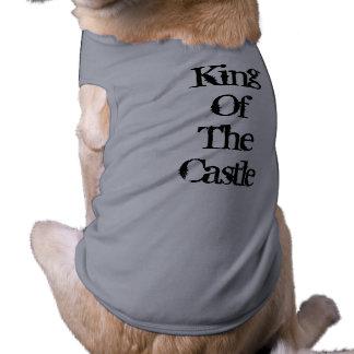 Camisa de rey Of The Castle Dog Playera Sin Mangas Para Perro