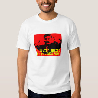 Camisa de Rusia soviética Yakov Smirnoff