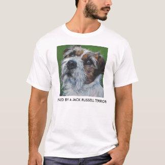 camisa de Russell TERRIER del enchufe
