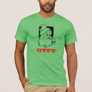 Camisa de Santa GTFO del día de fiesta