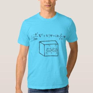 Camisa de Schrodinger de los hombres