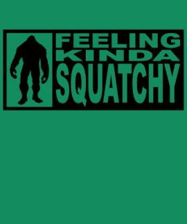 Camisa de Squatchy de la sensación - encontrar