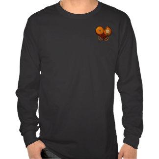 Camisa de SteamPoly - corazón del mecanismo