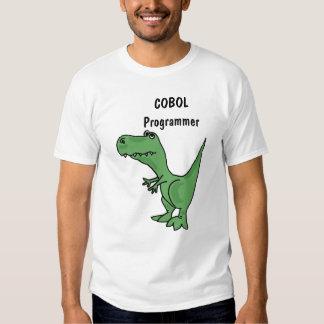 Camisa de T-Rex del programador de COBOL del BA