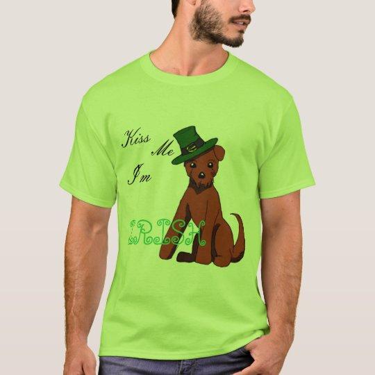 Camisa de Terrier irlandés del día de St Patrick