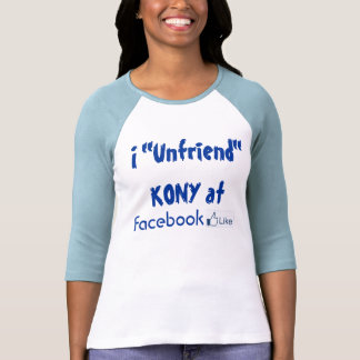 Camisa de Unfriend Kony