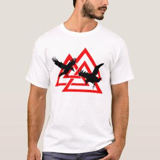 Camisa de Valknut de los cuervos