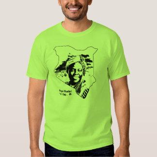 Camisa de Wangari Maathai del RASGÓN