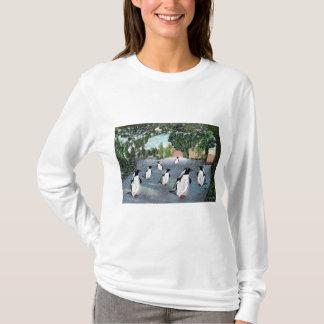 Camisa de Winterwonderland del pingüino