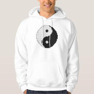 Camisa de Yinyang del pixel