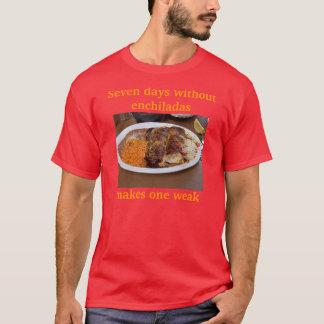 Camisa débil del Enchilada