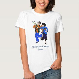 Camisa del 壮族 de las nacionalidades de China