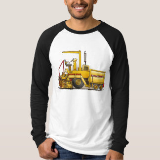 Camisa del adulto de la máquina de pavimentación
