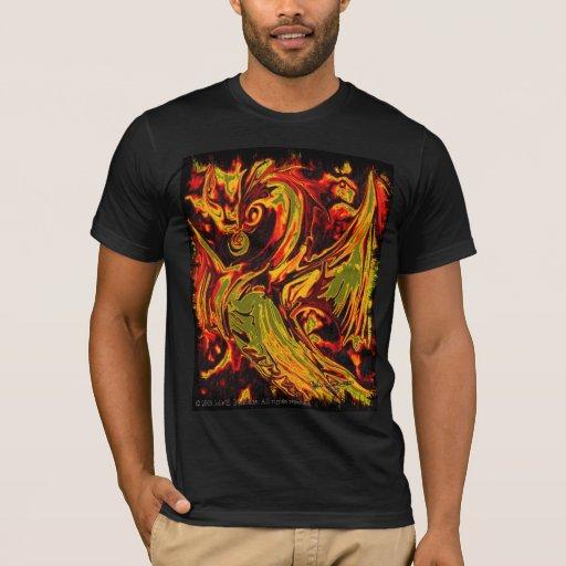 Camisa del alcohol del fuego