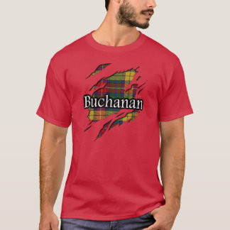 Camisa del alcohol del tartán de Buchanan del clan
