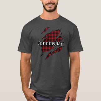 Camisa del alcohol del tartán de Cunningham del