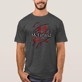 Camisa del alcohol del tartán de MacFarlane