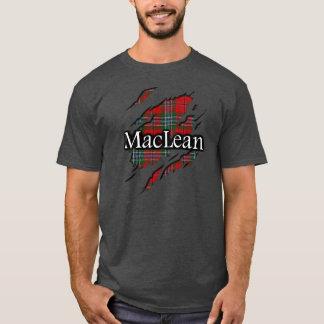 Camisa del alcohol del tartán de MacLean del clan