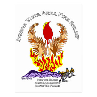 Camisa del alivio del incendio fuera de control de postal