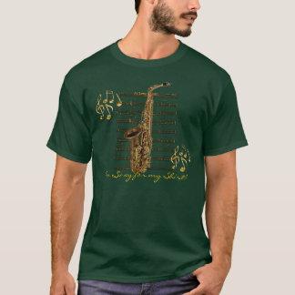 Camisa del amante de la música del músico del