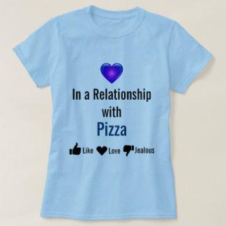 Camisa del amante de la pizza