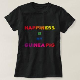 Camisa del amante del conejillo de Indias
