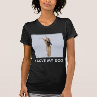 Camisa del amor de great dane