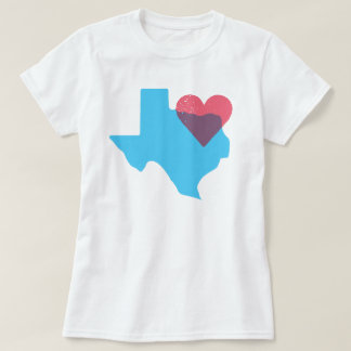 Camisa del amor del estado de origen de Tejas
