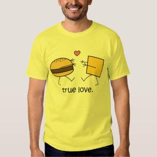 """Camisa del """"amor verdadero"""" de la hamburguesa y"""