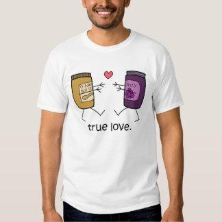 """Camisa del """"amor verdadero"""" de la mantequilla y de"""