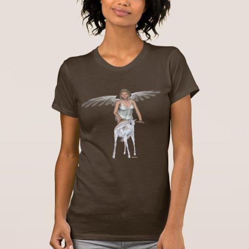 Camisa del ángel del bebé del unicornio