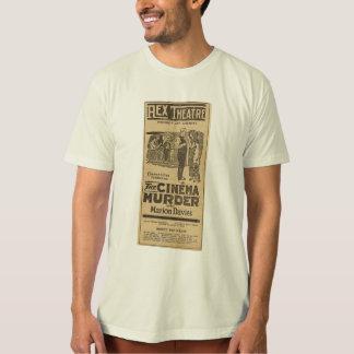 Camisa del anuncio de la película del asesinato
