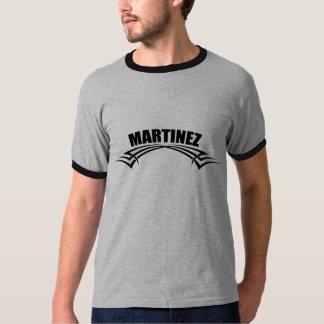 Camisa del apellido de Martínez