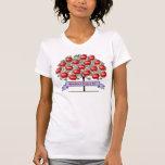 Camisa del árbol de familia - 18 nombres