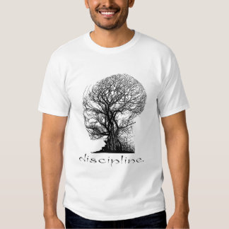 Camisa del árbol de la disciplina