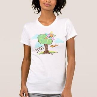 Camisa del árbol de la esperanza
