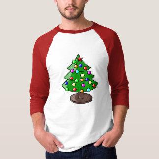 Camisa del árbol de navidad