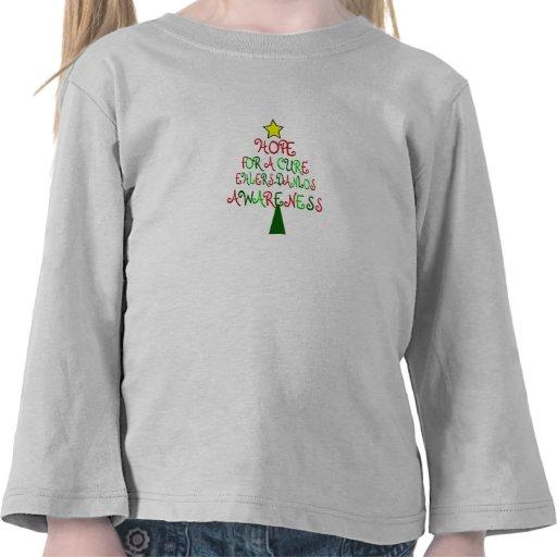 Camisa del árbol de navidad de Ehlers-Danlos