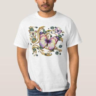 Camisa del arte 6A de la mariposa